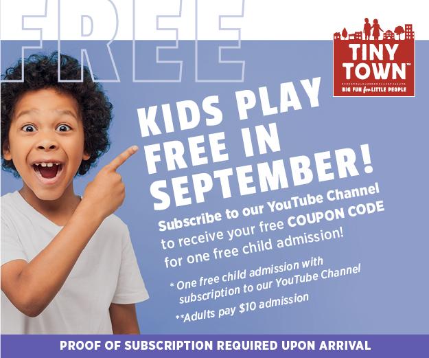 kids play free september